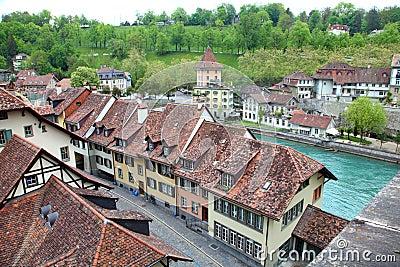 Cidade européia Berne
