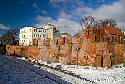 Cidade velha de Grudziadz