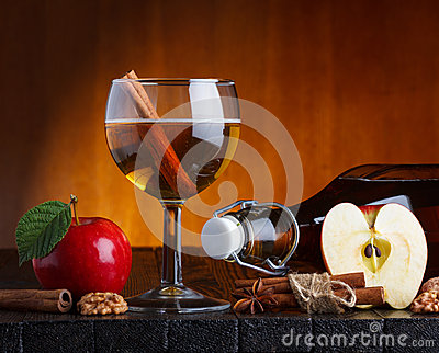 Cider still life