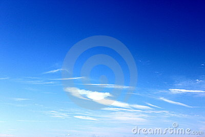 Ciel Bleu Photos stock - Image: 13121153
