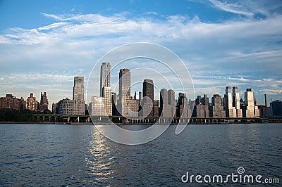 Ciel-scrapper de New York City