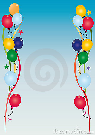 Cielo dell invito di compleanno