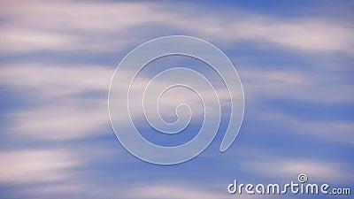 Cielo nublado abstracto almacen de video