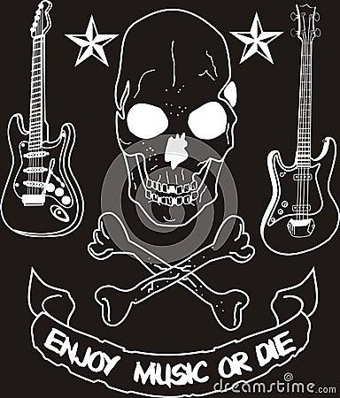 Cieszy się muzykę lub umiera