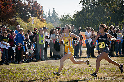 CIF State Cross Country Championships 2011 Editorial Photo