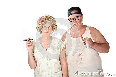 Cigar couple