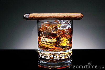 Cigar on Drink