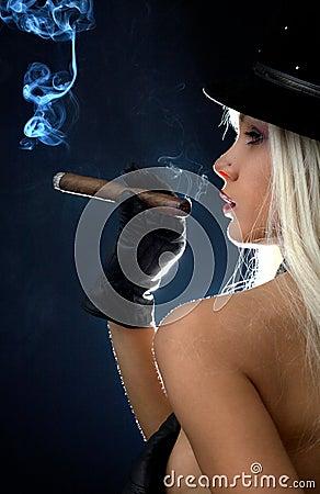 Cigar girl #2