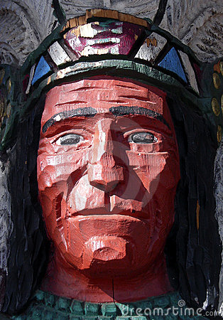 Free Cigar Store Indian Royalty Free Stock Image - 357266