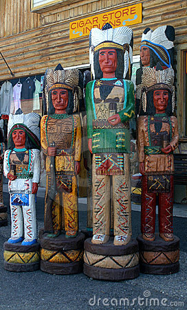 Free Cigar Store Indians Stock Images - 8549654