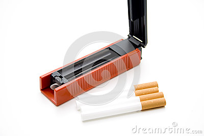 Cigarets darning appliance