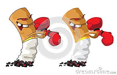 Cigarette boxer set