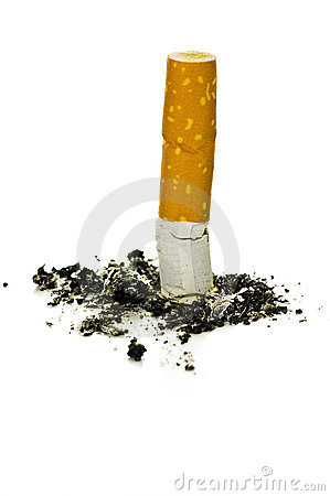 Free Cigarette Butt Royalty Free Stock Image - 15111366