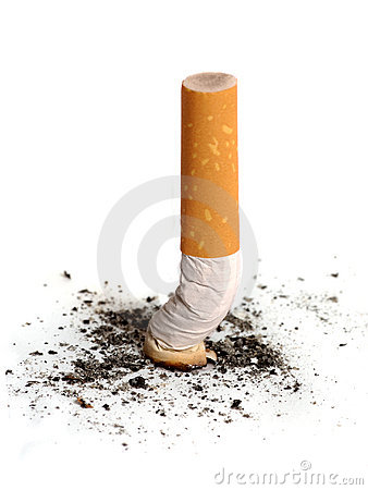 Free Cigarette Butt Royalty Free Stock Image - 464696