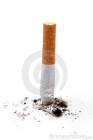 Free Cigarette Butt Stock Photography - 8680182