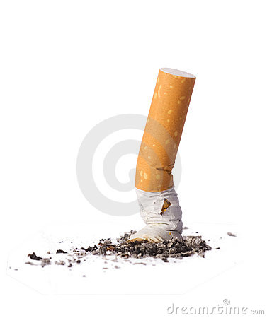 Free Cigarette Butt Royalty Free Stock Images - 9804659
