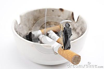 Cigarette and Death