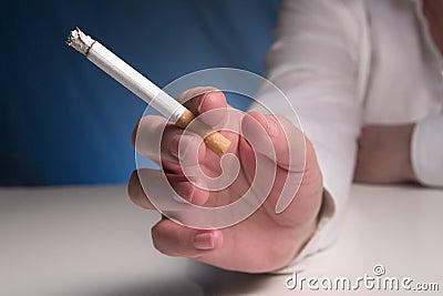 Cigarette in hand 2