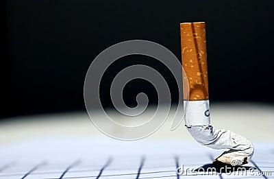 Cigarette off