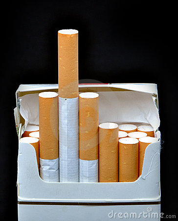 Free Cigarette Pack Stock Photo - 14157010