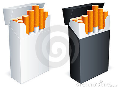 Cigarette pack.