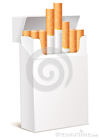 Cigarette pack 3d