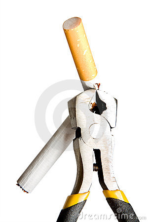 Free Cigarette Pincers Royalty Free Stock Photo - 4388205