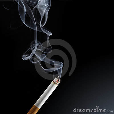 Free Cigarette Smoke Stock Image - 18319061
