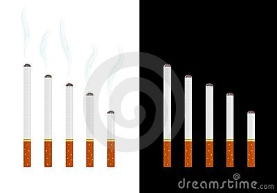 Cigarettes graph