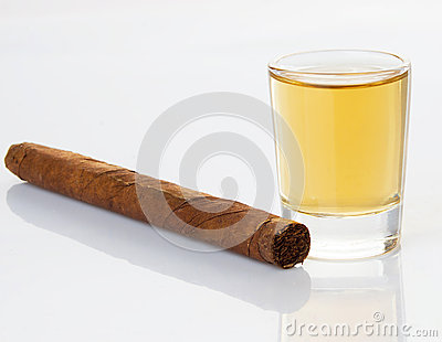 Cigars And Whiskey Stock Photo - Image: 25945920