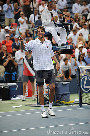 Cilic Marin at US Open 2009 (19) Editorial Photography