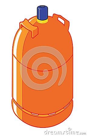 Cilindro de gas del butano imagenes de archivo imagen for Valor cilindro de gas