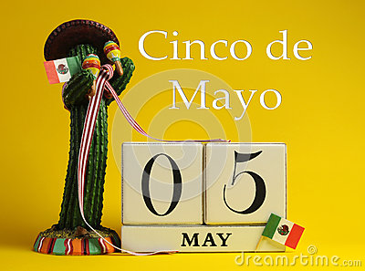 Cinco de May, May 5, calendar