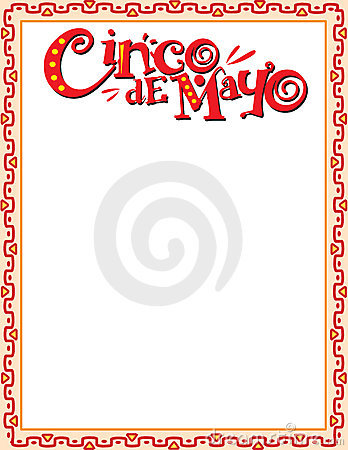 Royalty Free Stock Images: Cinco de Mayo Border. Image: 8588149