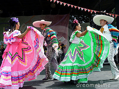 Cinco de Mayo Dancing Editorial Photography