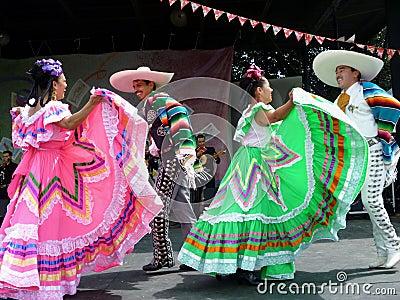 Cinco de Mayo Dancing Editorial Photography
