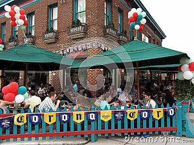 Cinco de Mayo Diners Editorial Image