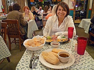 Cinco de Mayo Dinner Editorial Stock Image