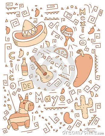 Cinco de Mayo Doodle