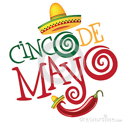 Free Cinco De Mayo Hand Drawn Lettering Design Royalty Free Stock Images - 50781629