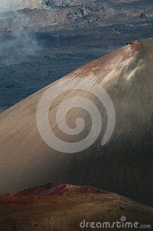 Cinder Cones at Haleakala National Park in Maui, Hawaii.