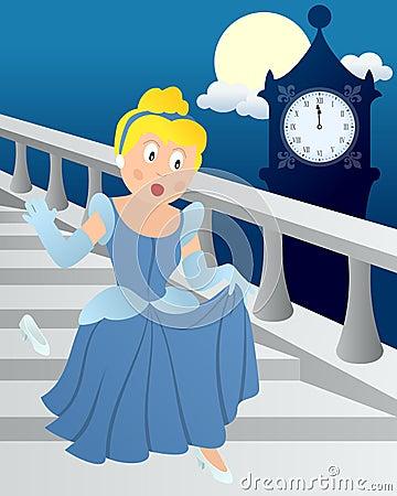 Free Cinderella At Midnight Stock Photo - 24997910