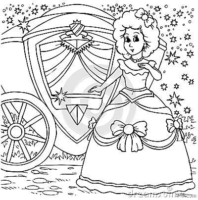 Cinderella before a ball