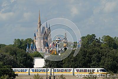 Cinderella Castle Editorial Image
