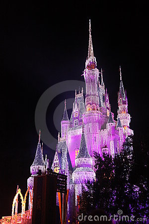 Cinderella Castle at Disney world Editorial Photo