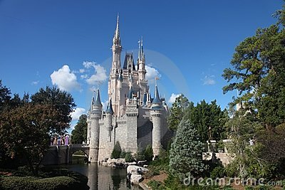 Cinderella Castle at Disney world Editorial Image