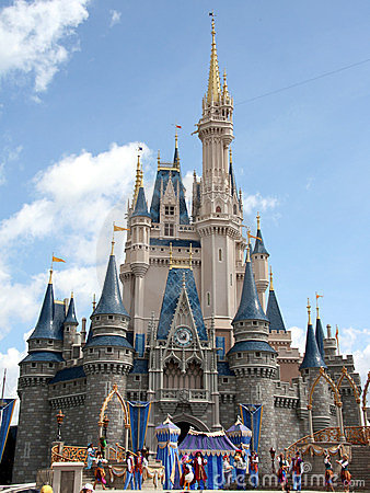 Cinderella Castle Walt Disney World Editorial Stock Photo