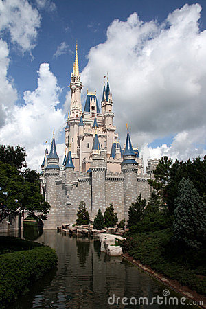 Cinderella Castle Walt Disney World Editorial Stock Image
