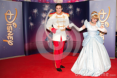 Cinderella and Prince Charming Editorial Photo