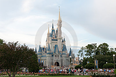 Cinderella s Castle Editorial Image
